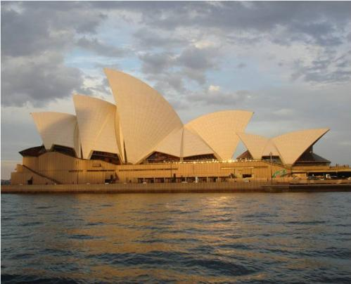 Sydney Opera House during sunset