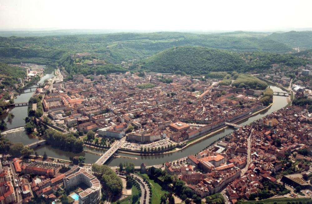 City view of Besancon