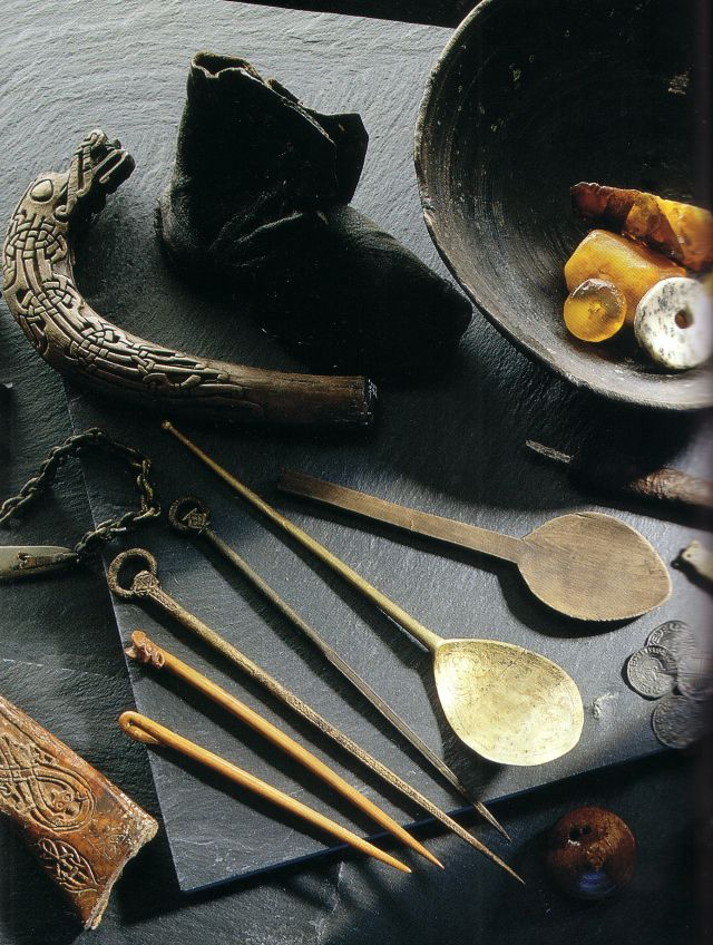 Viking findings_ancient utensil artifacts
