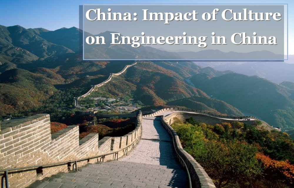 China Impact of Culture on Engineering in China_Great wall of China