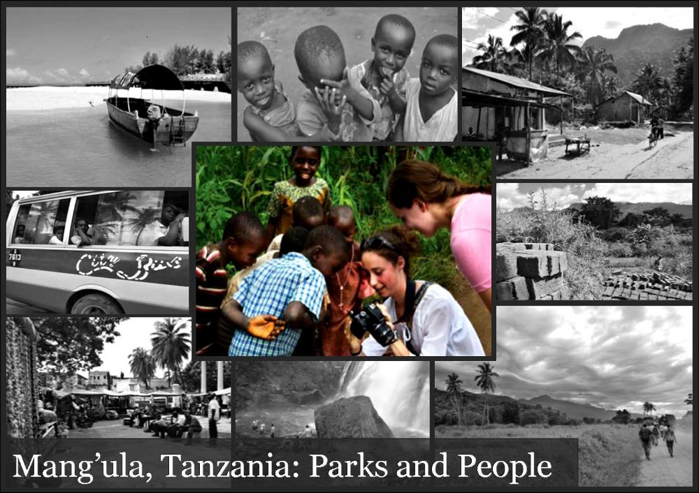 Mang'ula Tanzania Parks and People_Collage of Tanzanian excursions
