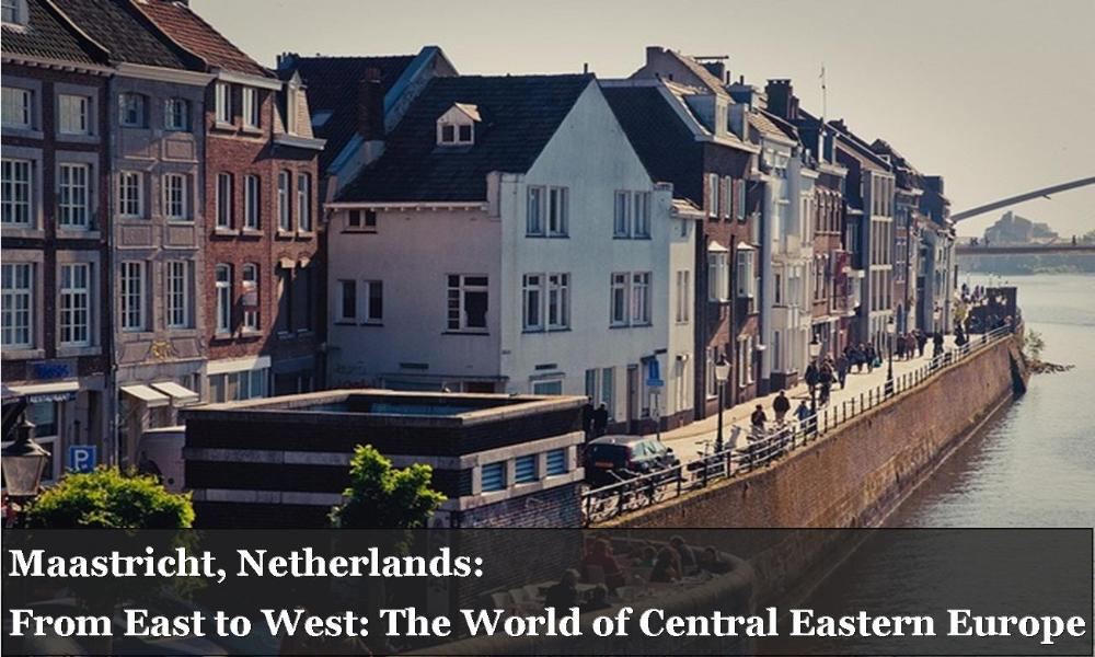 Maastricht Netherlands From East to West The World of Central Eastern Europe_Houses along water