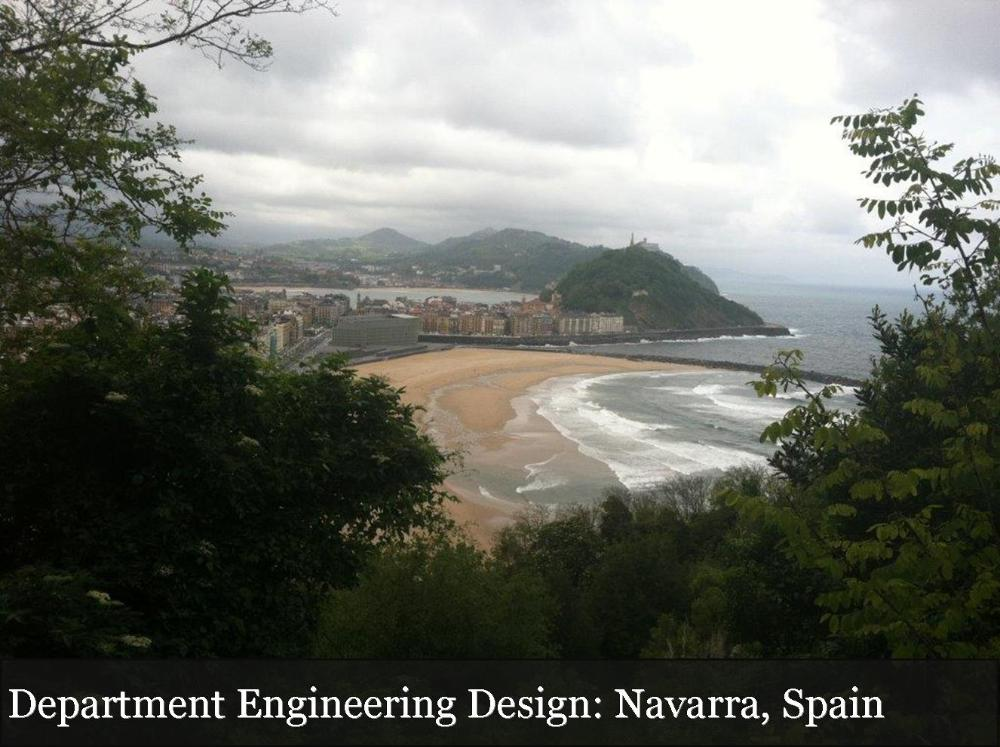 Department Engineering Design Navarra Spain_coastal view of Navarra Spain