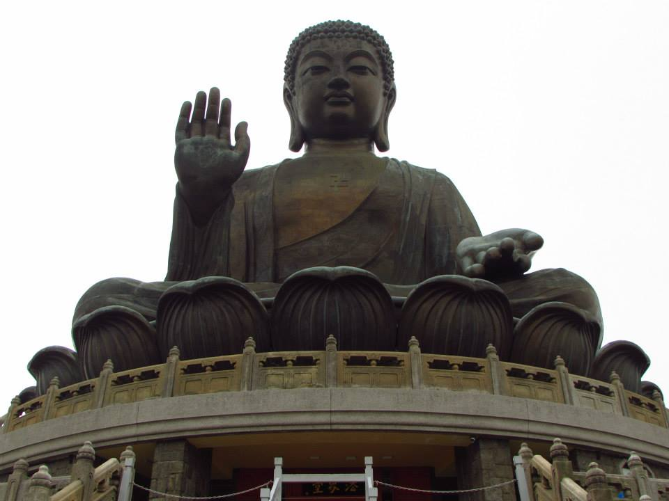 Big Buddha on Lantau Island, Hong Kong
