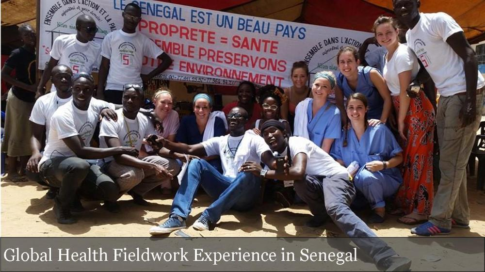 Group of students in Senegal