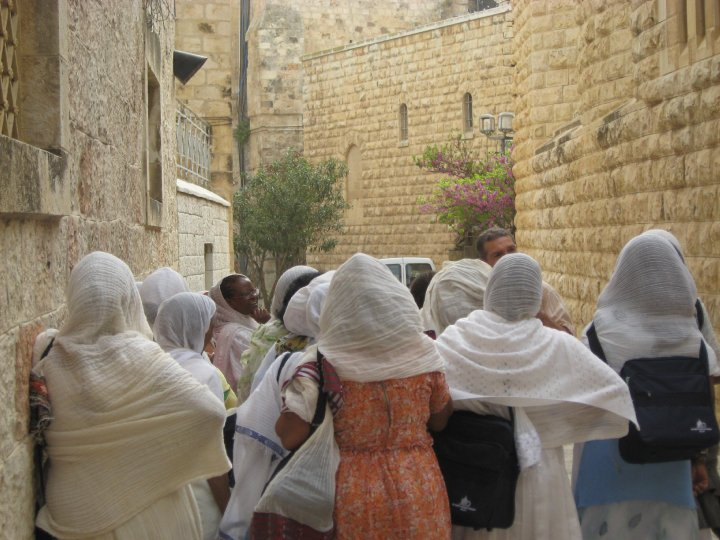 The Holy Walk in Israel
