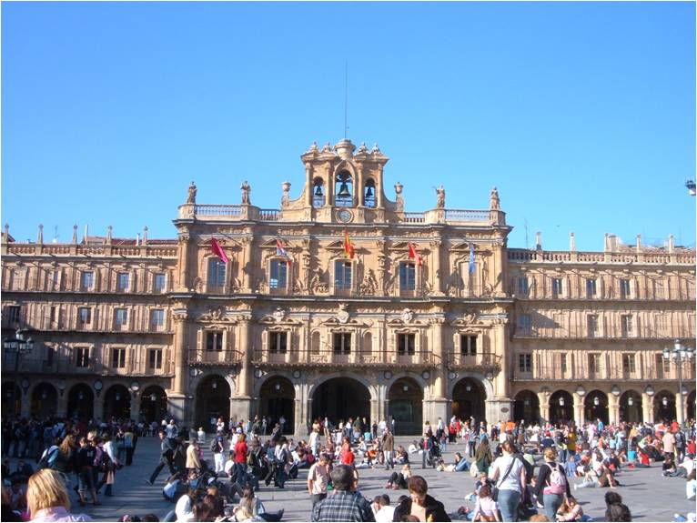 Salamanca - La Plaza Mayor
