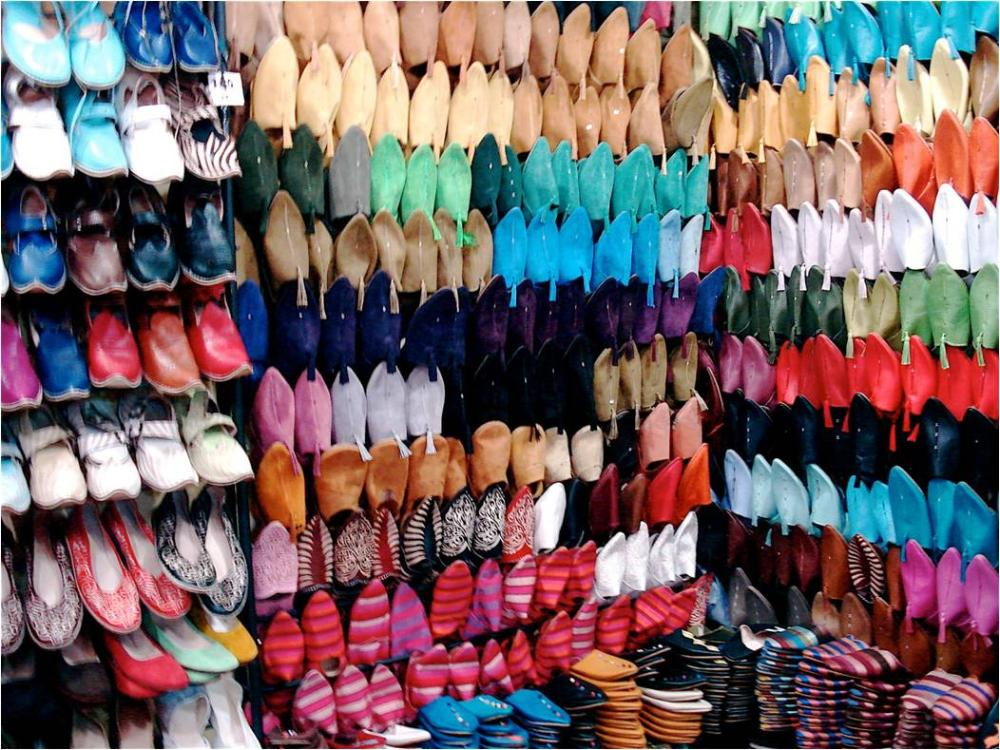 Shoe store in Morocco