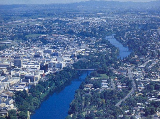 Overlooking Hamilton, New Zealand