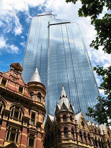 Melbourne, Australia, buildings - old and new