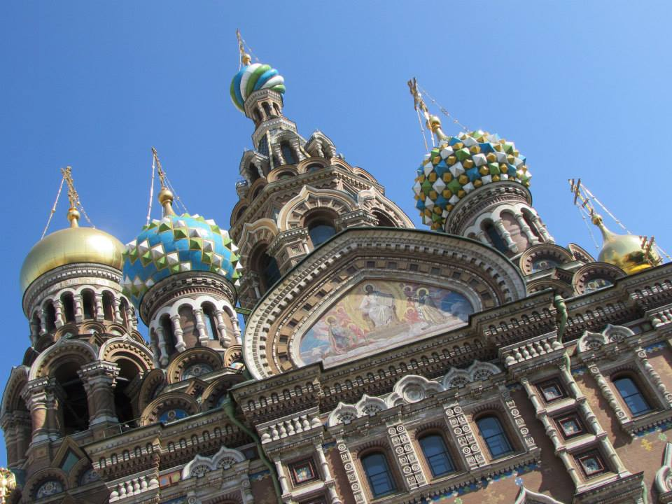 The Church of Our Savior on Spilled Blood in St. Petersburg
