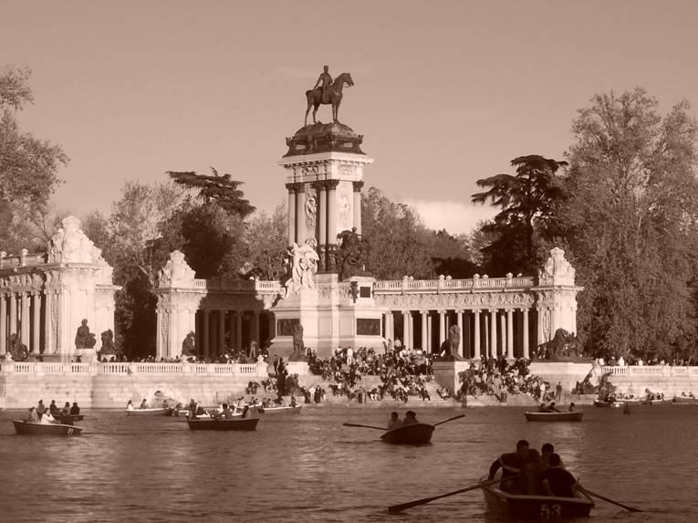 Monument to Alfonso XII, El Retiro, Madrid